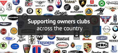 Supporting owners clubs across the country