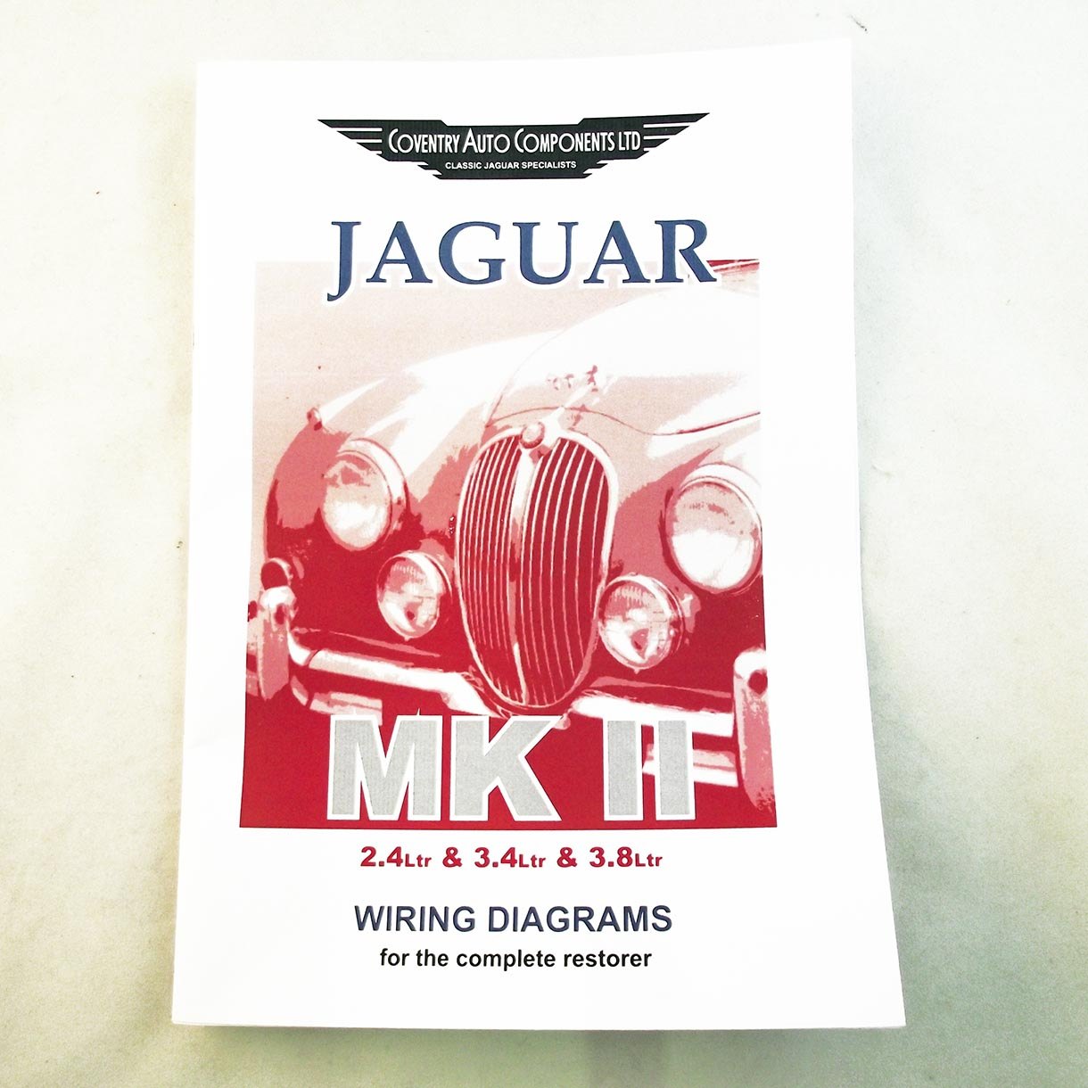 Jaguar MK2 & 240/340 Wiring Instruction Booklet on