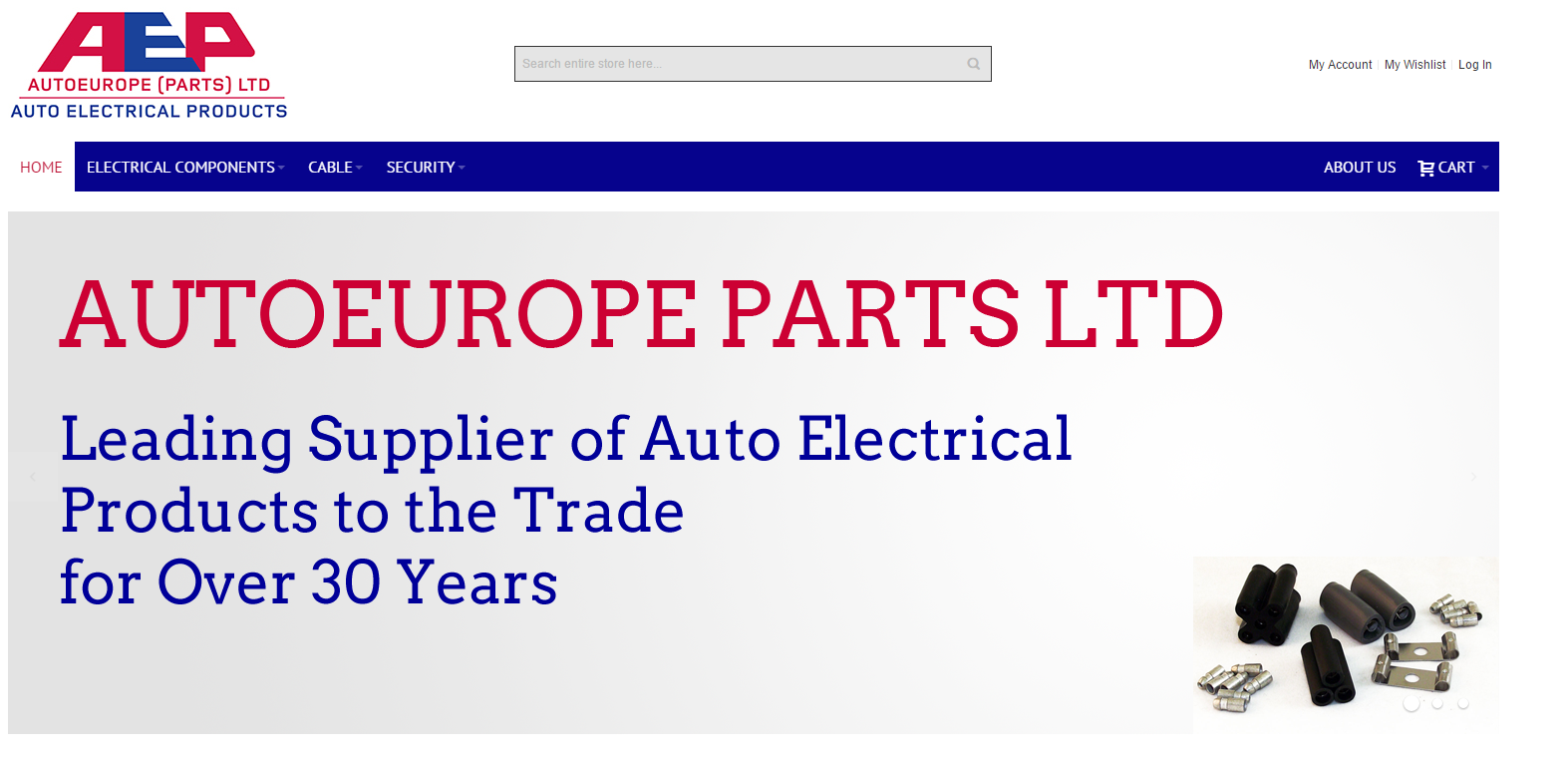 Autoeurope Parts Homepage